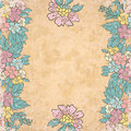 Free Vintage Floral  Background Royalty Free Stock Photo - 26738525