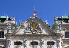 Free Belvedere Palace Façade Detail Stock Photos - 26730703