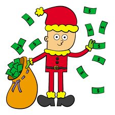 Free Rich In Christmas Stock Images - 26731744