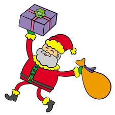 Santa S Gift Stock Photography