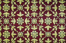 Free Thai Vintage Pattern Royalty Free Stock Photo - 26734225