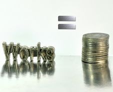 Free Works For Money Stock Photography - 26734682