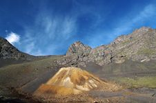 Free Caucasus Mountains. Old Mining. Stock Photography - 26737502