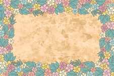 Free Vintage Floral  Background Stock Photo - 26738400