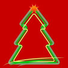 Free Christmas Abstract Background Stock Image - 26738701