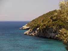 Free Cliffs Of Zakynthos Royalty Free Stock Photos - 26738898