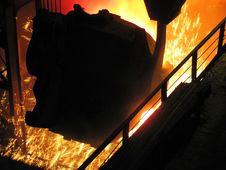 Free Metallurgical Production. Stock Photography - 26739102