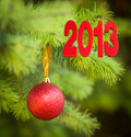 Free Christmas Tree Decoration For Christmas Stock Photography - 26744262