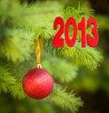 Free Christmas Tree Decoration For Christmas Stock Photography - 26744262