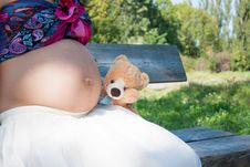 Free Pregnant Woman Royalty Free Stock Photography - 26741027