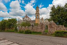 Free Oxtotipac Church And Monastery, Mexico Stock Photos - 26743423