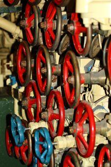 Free Scorpion Submarine Control Wheels Stock Photo - 26745170