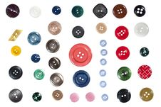 Free Buttons Stock Photography - 26747772