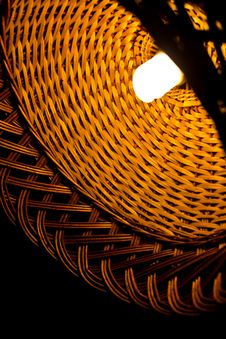 Free Wicker Lamp Stock Photos - 26748383
