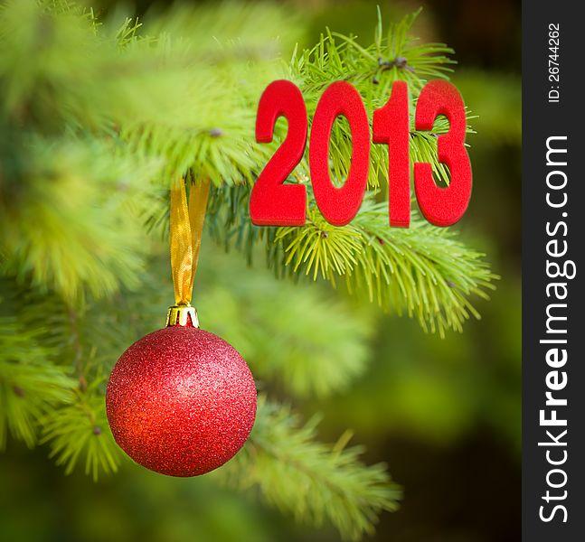 Christmas tree decoration for Christmas