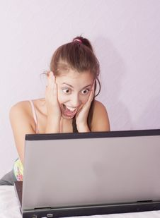 Free Surprised Girl Royalty Free Stock Photography - 26750177