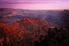 Free Grand Canyon Colorful Sunrise Royalty Free Stock Photo - 26750815