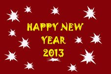 Free Happy New Year Royalty Free Stock Image - 26752466