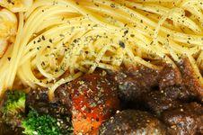 Free Spaghetti With Tomato Sauce Royalty Free Stock Photos - 26755098