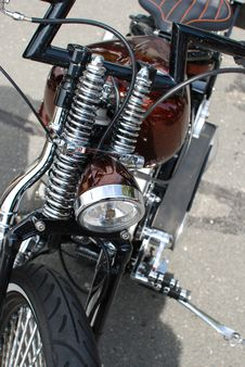 Free Motorcycle Chopper Stock Images - 26756154