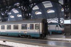 Free Train In Milan Station Stock Photos - 26756923