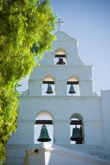 Mission Basilica San Diego De Alcala Royalty Free Stock Photography