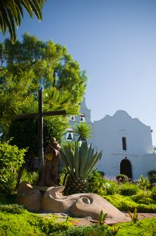 Free Mission Basilica San Diego De Alcala Royalty Free Stock Photos - 26759268