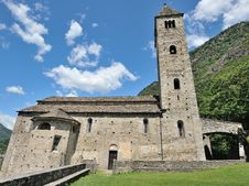 Free Old Church In Biasca Royalty Free Stock Image - 26759886