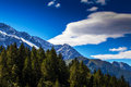 Free Snow Covered Mountains And Rocky Peaks In The Alps Stock Images - 26764194