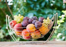 Free Mix Of Autumn Fruits Royalty Free Stock Images - 26765209