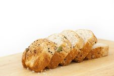 Free Multigrain Bread With Sunflower Seeds Stock Photography - 26769902