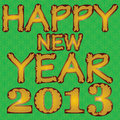 Free Happy New Year 2013. Stock Photo - 26772260