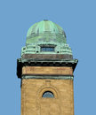 Free Green Copper Dome On Brick Tower Royalty Free Stock Photos - 26777418
