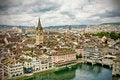 Free Zürich City Panorama Royalty Free Stock Photography - 26778857