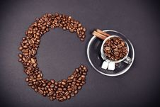 Free Coffee In Creative Colors Royalty Free Stock Photography - 26770507