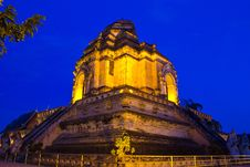 Wat Chedi Luang, Chiang Mai Stock Images