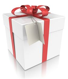 Free Gift Box. Royalty Free Stock Photography - 26778697