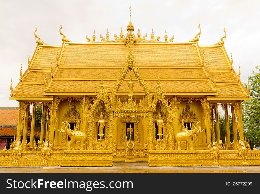 Golden Thai Chapel.