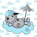 Free Monster Boy On A Cloud Stock Photos - 26783403