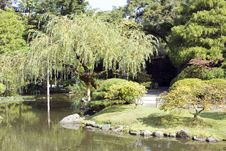 Free Charming Japanese Garden Royalty Free Stock Image - 26783126
