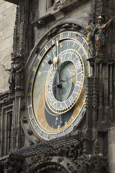 Astronomical Clock, Czech Republic Stock Photo