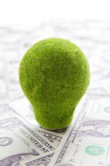 Eco Light Bulb Stock Image