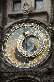 Free Astronomical Clock, Czech Republic Stock Photography - 26787642