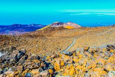 Free Landscape With Pico Viejo Volcano Stock Photography - 26789792