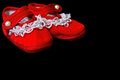 Free Red Baby Shoes Royalty Free Stock Photo - 26798305