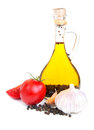Free A Bottle Of  Olive Oil Royalty Free Stock Photos - 26799918