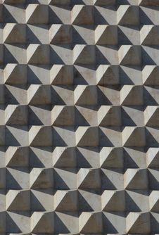 Free Marble Pyramids On Wall Royalty Free Stock Image - 26791126