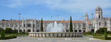 Free Panorama Of Mosteiro Dos Jeronimos Royalty Free Stock Image - 26791246