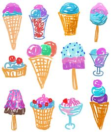 Free Ice Cream Royalty Free Stock Photo - 26792035