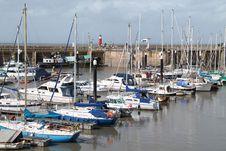Free Coastal Harbour. Royalty Free Stock Photo - 26794045